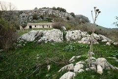 Αγροτικό πάρκο Nebrodi τοπίων, Σικελία στοκ φωτογραφίες