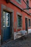 αγροτικό παλαιό κρασί πυρ& στοκ φωτογραφίες
