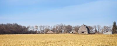 αγροτικό πανόραμα στοκ φωτογραφία με δικαίωμα ελεύθερης χρήσης