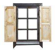 Αγροτικό παράθυρο ύφους που απομονώνεται Στοκ Εικόνες