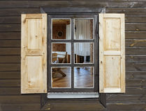 Αγροτικό παράθυρο ύφους Στοκ Εικόνες