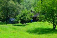 Αγροτικό προαύλιο Στοκ εικόνα με δικαίωμα ελεύθερης χρήσης