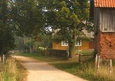 αγροτικό πρωί Στοκ φωτογραφία με δικαίωμα ελεύθερης χρήσης