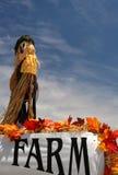 αγροτικό σκιάχτρο Στοκ φωτογραφία με δικαίωμα ελεύθερης χρήσης