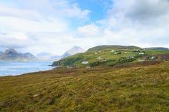Αγροτικό σκωτσέζικο πανόραμα Στοκ εικόνα με δικαίωμα ελεύθερης χρήσης