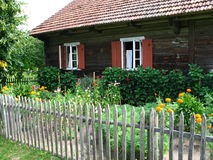 αγροτικό σπίτι παλαιό Στοκ εικόνες με δικαίωμα ελεύθερης χρήσης