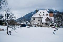 αγροτικό σπίτι παλαιό στοκ φωτογραφίες με δικαίωμα ελεύθερης χρήσης