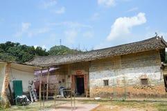 Αγροτικό σπίτι παραδοσιακού κινέζικου Στοκ εικόνες με δικαίωμα ελεύθερης χρήσης