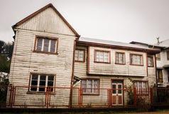 Αγροτικό σπίτι σε Chiloe Στοκ φωτογραφία με δικαίωμα ελεύθερης χρήσης