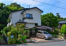 Αγροτικό σπίτι σε Matsushima, Ιαπωνία στοκ εικόνα με δικαίωμα ελεύθερης χρήσης