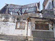 Αγροτικό σπίτι στην κεντρική Ιάβα στοκ φωτογραφίες με δικαίωμα ελεύθερης χρήσης