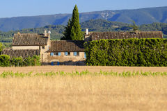 Αγροτικό σπίτι στην Προβηγκία, Γαλλία Στοκ εικόνα με δικαίωμα ελεύθερης χρήσης