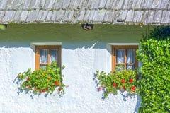 Αγροτικό σπίτι στις Άλπεις στοκ φωτογραφία με δικαίωμα ελεύθερης χρήσης