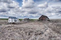 Αγροτικό σπίτι στο Palouse Στοκ Φωτογραφίες