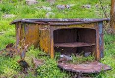Αγροτικό σπίτι Cookstove Στοκ φωτογραφίες με δικαίωμα ελεύθερης χρήσης
