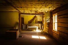 Αγροτικό σπίτι Grunge Στοκ Εικόνες