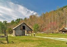 Αγροτικό σπίτι Hutchinson στο πέτρινο κρατικό πάρκο βουνών Στοκ φωτογραφία με δικαίωμα ελεύθερης χρήσης