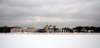 Αγροτικό σπίτι Kuskovo Στοκ εικόνες με δικαίωμα ελεύθερης χρήσης