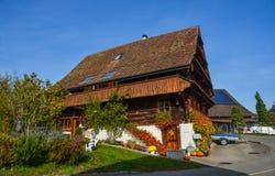 Αγροτικό σπίτι Luzern, Ελβετία στοκ φωτογραφίες