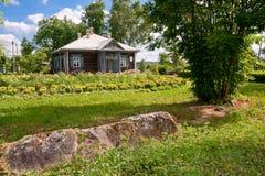 Αγροτικό σπίτι Suvorov μουσείων Στοκ εικόνα με δικαίωμα ελεύθερης χρήσης