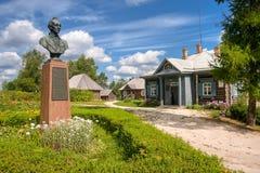 Αγροτικό σπίτι Suvorov μουσείων Στοκ φωτογραφία με δικαίωμα ελεύθερης χρήσης
