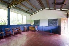 αγροτικό σχολείο δωματίων της Νικαράγουας Στοκ φωτογραφία με δικαίωμα ελεύθερης χρήσης
