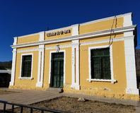 Αγροτικό σχολείο στην Αργεντινή Στοκ φωτογραφία με δικαίωμα ελεύθερης χρήσης
