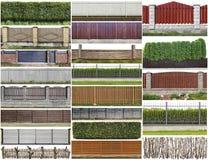 Αγροτικό σύνολο φρακτών και φρακτών Στοκ εικόνες με δικαίωμα ελεύθερης χρήσης