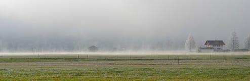 Αγροτικό τοπίο για την περιοχή εμβλημάτων Στοκ Φωτογραφία