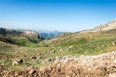 Αγροτικό τοπίο της Τουρκίας Στοκ φωτογραφία με δικαίωμα ελεύθερης χρήσης