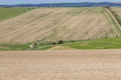 Αγροτικό τοπίο του Σάσσεξ στοκ εικόνα