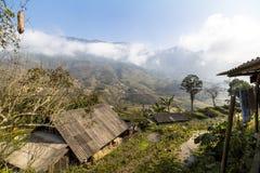 Αγροτικό τοπίο Sa PA, Βιετνάμ Στοκ Εικόνες