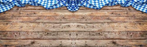 Αγροτικό υπόβαθρο για Oktoberfest Στοκ Εικόνες