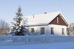 αγροτικό χωριό σκίτσων απεικόνισης βασικών σπιτιών σχεδίων Στοκ Φωτογραφίες