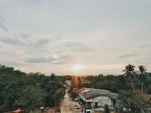 Αγροτικό χωριό στοκ φωτογραφία με δικαίωμα ελεύθερης χρήσης