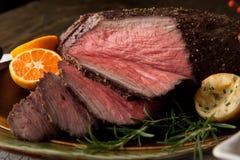 Αγροτικό ύφος βόειου κρέατος ψητού Στοκ Εικόνες