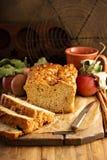 Αγροτικό ύφος ψωμιού της Apple Στοκ εικόνες με δικαίωμα ελεύθερης χρήσης
