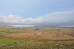 Αγροτικό Cumbria η περιοχή Αγγλία λιμνών Στοκ Φωτογραφία