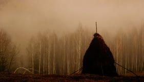 Αγροτικό landacape Grimm Στοκ φωτογραφία με δικαίωμα ελεύθερης χρήσης