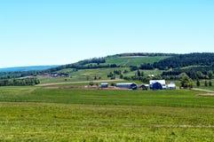 Αγρόκτημα άνοιξη Στοκ Εικόνες