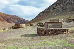 Αγρόκτημα βουνών στην κλίση, γενική άποψη στοκ φωτογραφία με δικαίωμα ελεύθερης χρήσης
