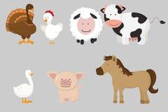αγρόκτημα ζώων Στοκ Φωτογραφίες