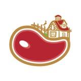 Αγρόκτημα κρέατος Στοκ εικόνες με δικαίωμα ελεύθερης χρήσης