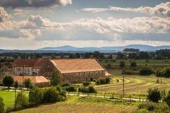 Αγρόκτημα στην Πολωνία στοκ εικόνα με δικαίωμα ελεύθερης χρήσης