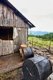 Αγρόκτημα τυριών βουνών Στοκ εικόνες με δικαίωμα ελεύθερης χρήσης