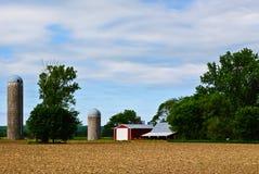 αγρόκτημα midwest στοκ φωτογραφίες με δικαίωμα ελεύθερης χρήσης