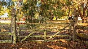 Αγρόκτημα Wonnerup στη δυτική Αυστραλία Στοκ φωτογραφία με δικαίωμα ελεύθερης χρήσης