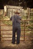 αγρότης αγροτικός Στοκ εικόνα με δικαίωμα ελεύθερης χρήσης