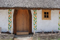 αγρότης Ουκρανός σπιτιών Στοκ Φωτογραφία