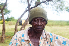 αγρότης που κουράζεται Στοκ φωτογραφία με δικαίωμα ελεύθερης χρήσης